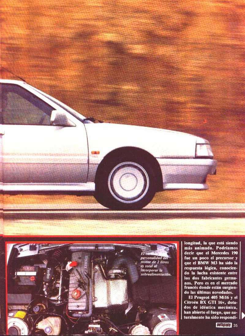 Estás ojeando imágenes del artículo: Revista AUTOPISTA - Renault 21 Turbo, 'La moda de ofrecer una versión superpotente'
